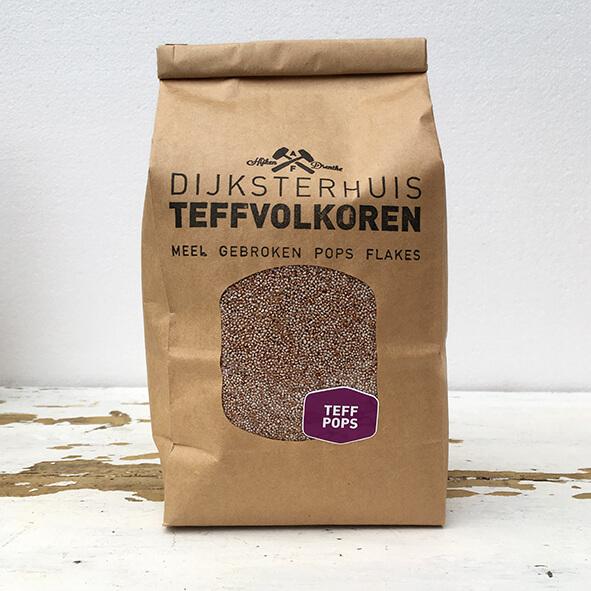 Teff pops 280 gram