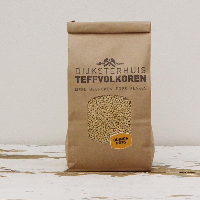 Quinoa pops 250 gram